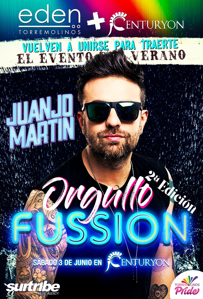 Juanjo Martín en Orgullo Fussion