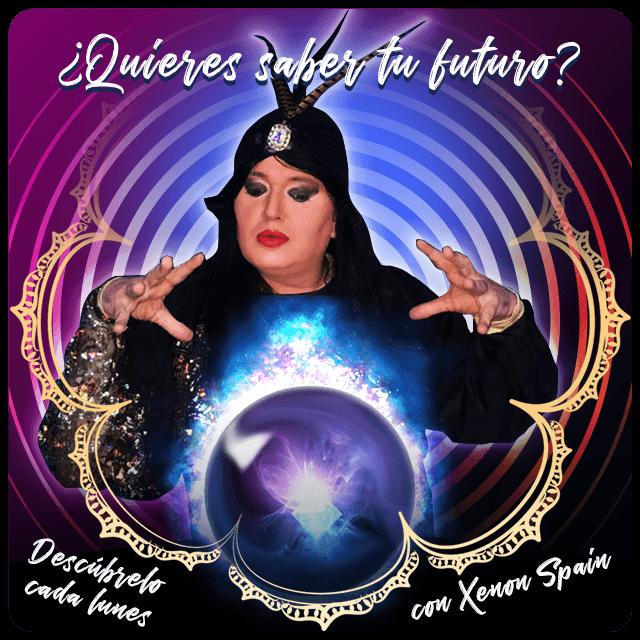 Cada lunes descubre tu futuro con XENON SPAIN en EDEN COPAS