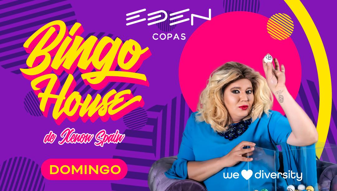 BINGO HOUSE EN EDEN COPAS SHOW DEL DOMINGO